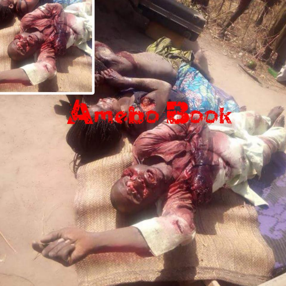 Village Head And His Two Wives Were Brutally Killed By Suspected Fulani Herdsmen