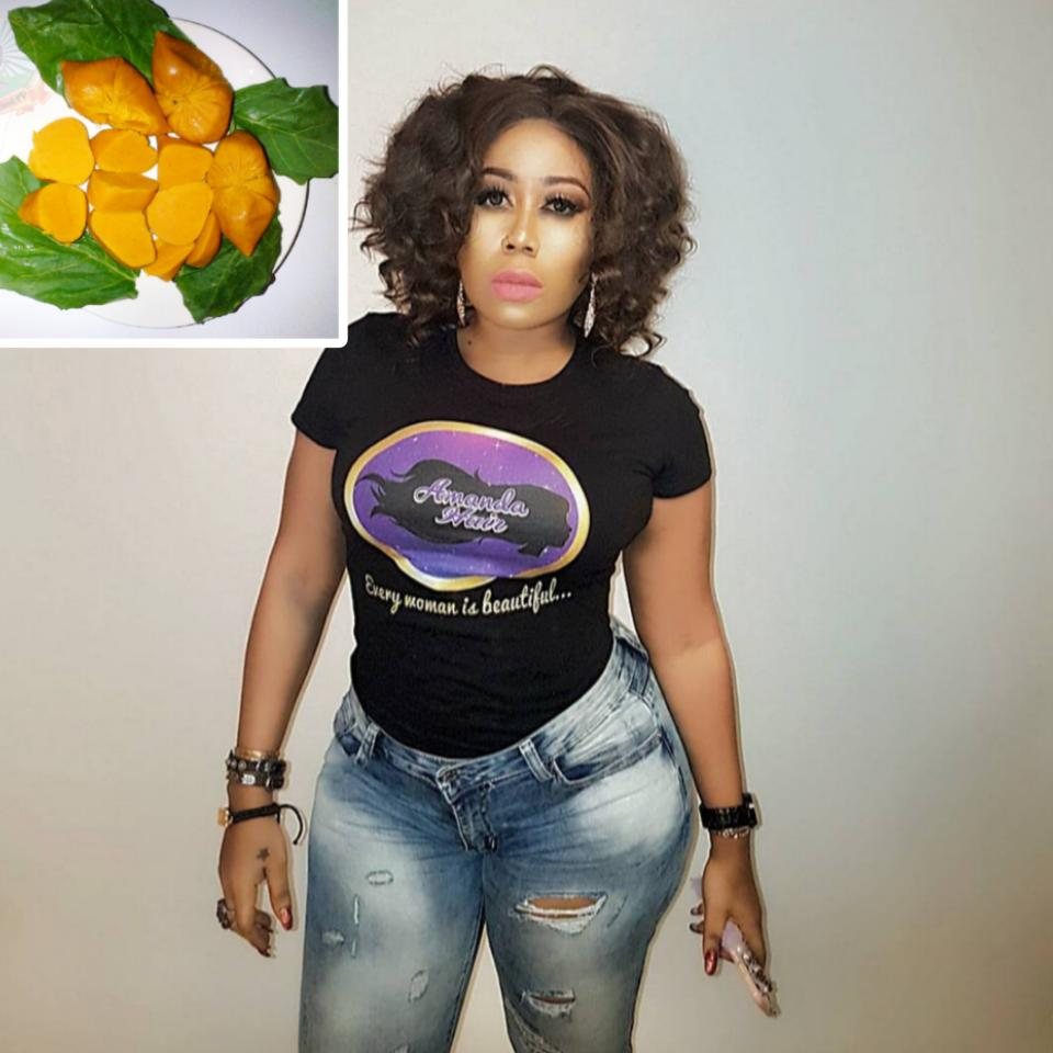 Moyo Lawal Reveals Her Love For Local Food Okpa