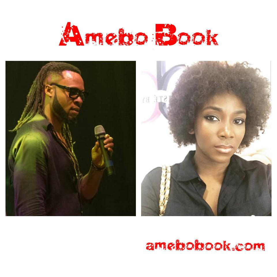 Genevieve Nnaji Hits The Studio For Collaboration With Flavour