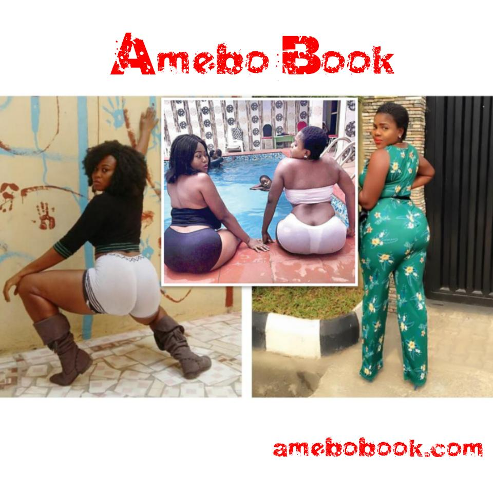 Pat Agwu And Chilly B Flaunt Their Massive Bums By The Pool