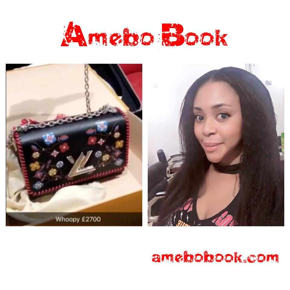 Mimi Orjiekwe Shows Off Her N1.3m Louis Vuitton Bag