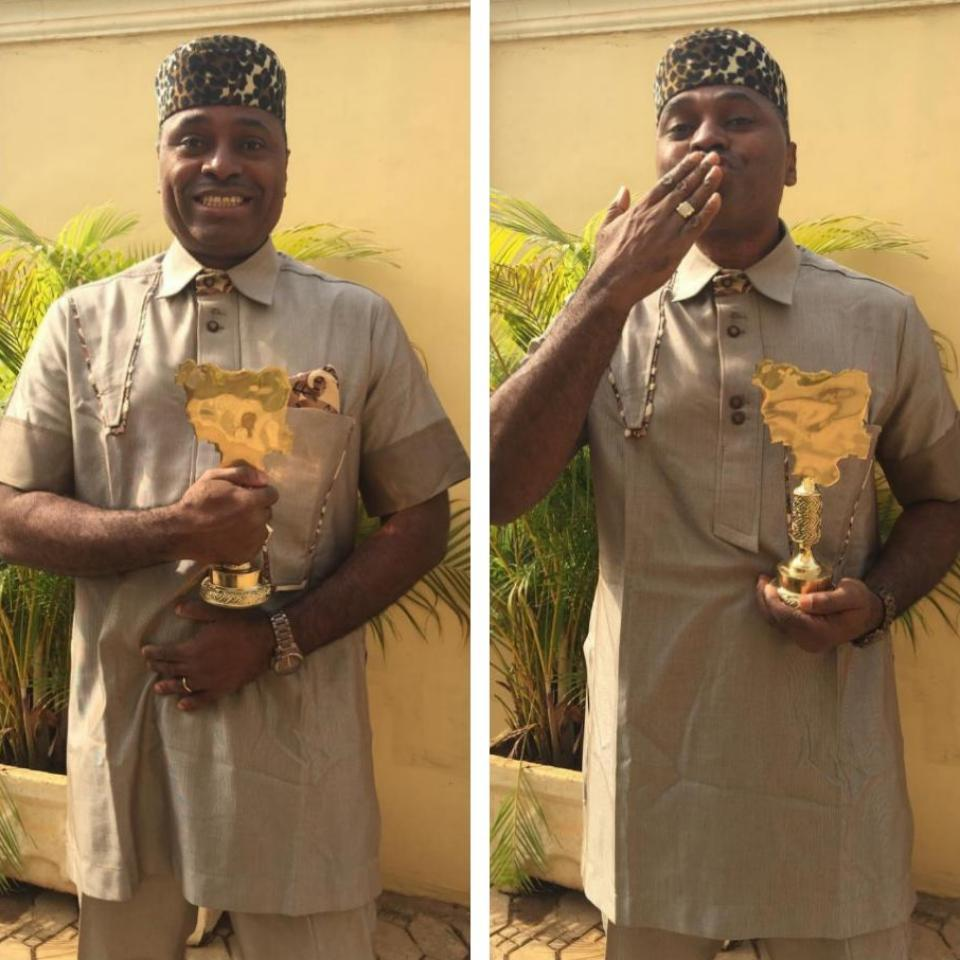 Kenneth Okonkwo Honoured With Nollywood Legend Award