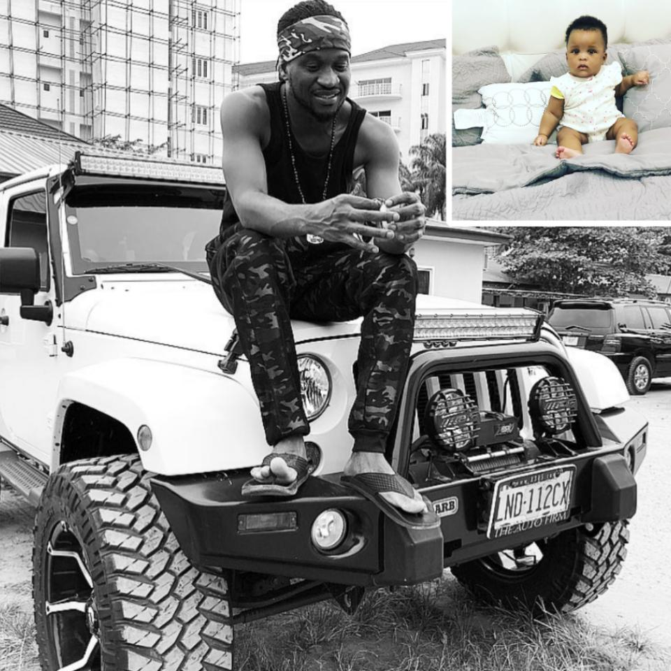 Paul Okoye Shares Stunning New Photos Of Daughter Nadia