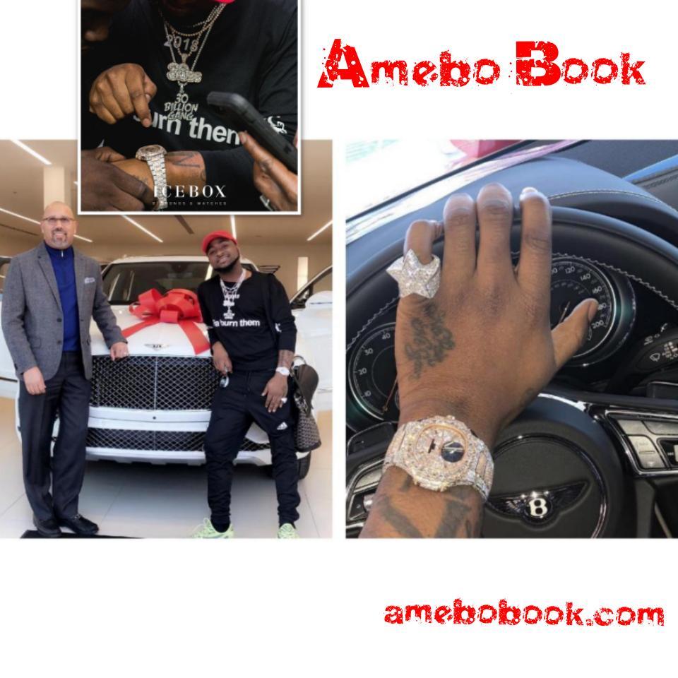 Davido Shows Off His New Bentley Bentayga Car In Atlanta