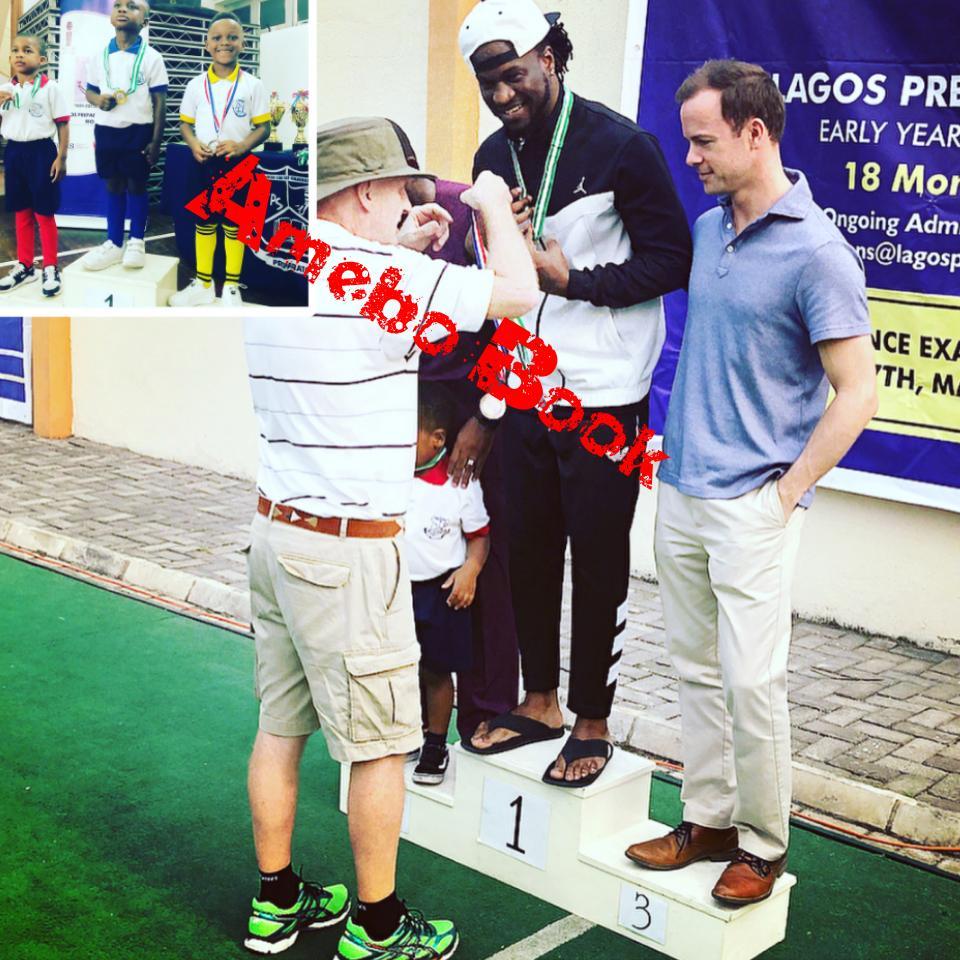 Paul Okoye Won Daddy's Race In Inter House Sports