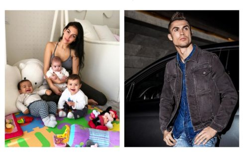 Georgina Rodriguez Starts The Weekend With Her Children In The Playroom