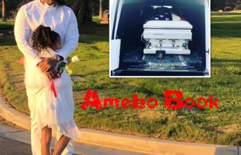 The Game Shares Photos From Dad's Funeral
