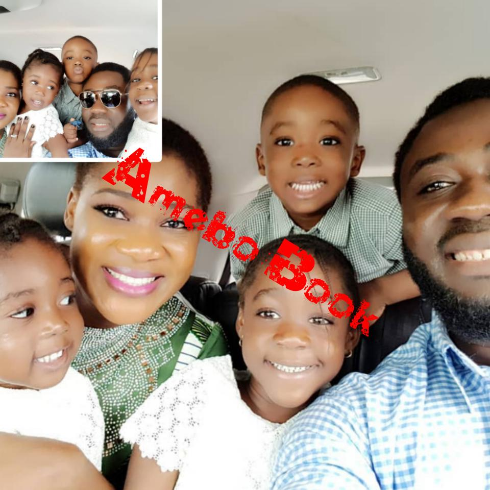 Mercy Johnson Flashes Big Smile In Stunning Family Shoot