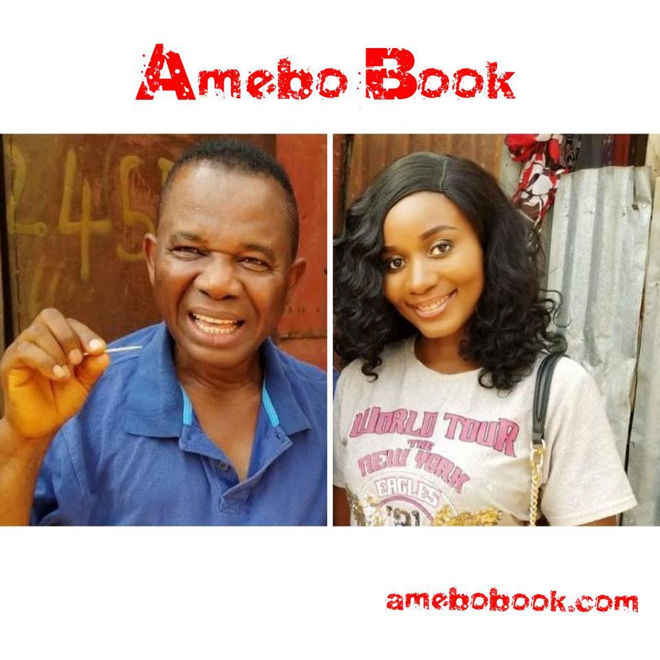 Chiwetalu Agu And His Toothpick Pose With Amanda Ebeye