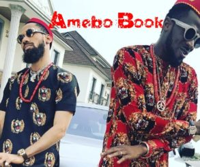 Phyno And D'banj Rock Igbo Traditional Attires