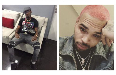 Chris Brown Follows Orezi On Instagram