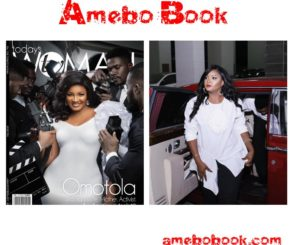 Omotola Is On The Front Cover Of TW magazine