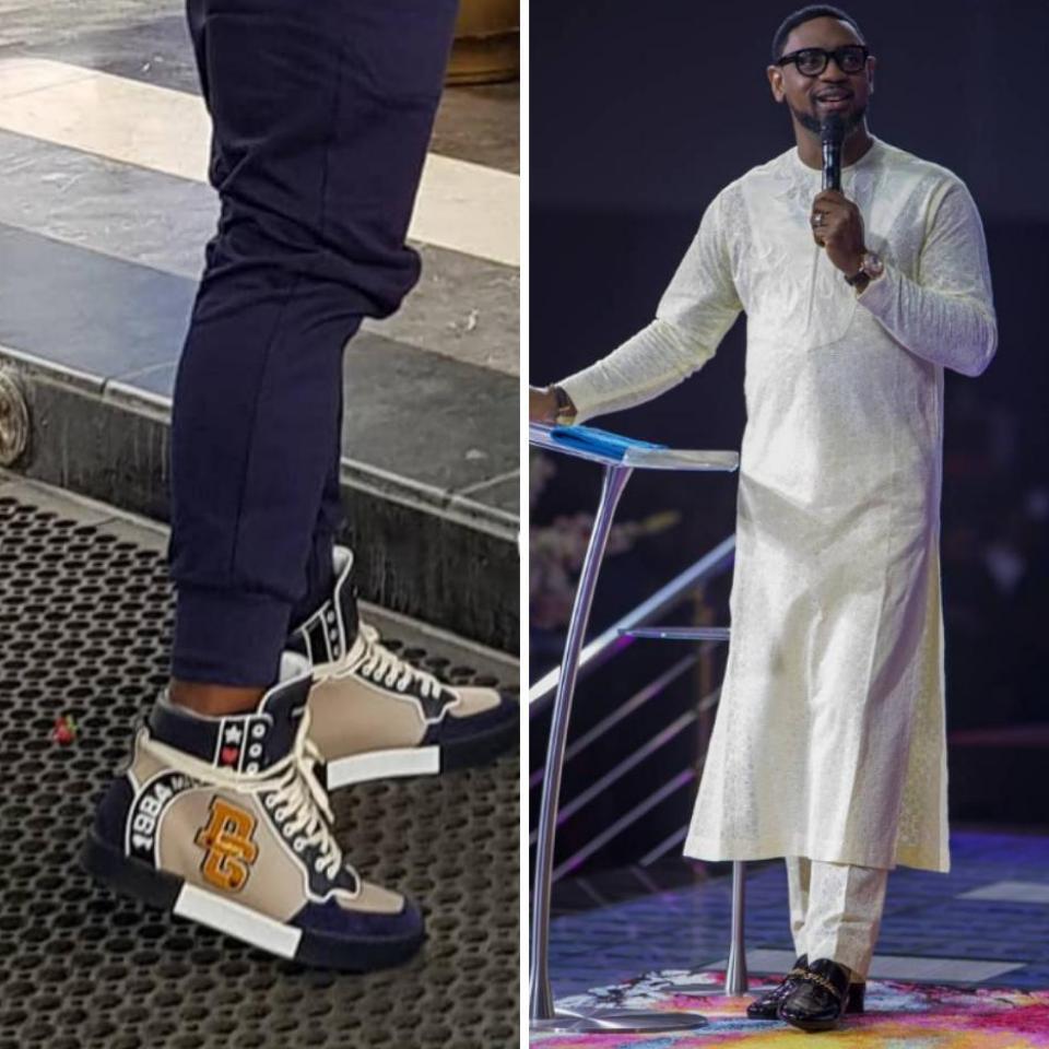 Biodun Fatoyinbo Slays In Sneakers