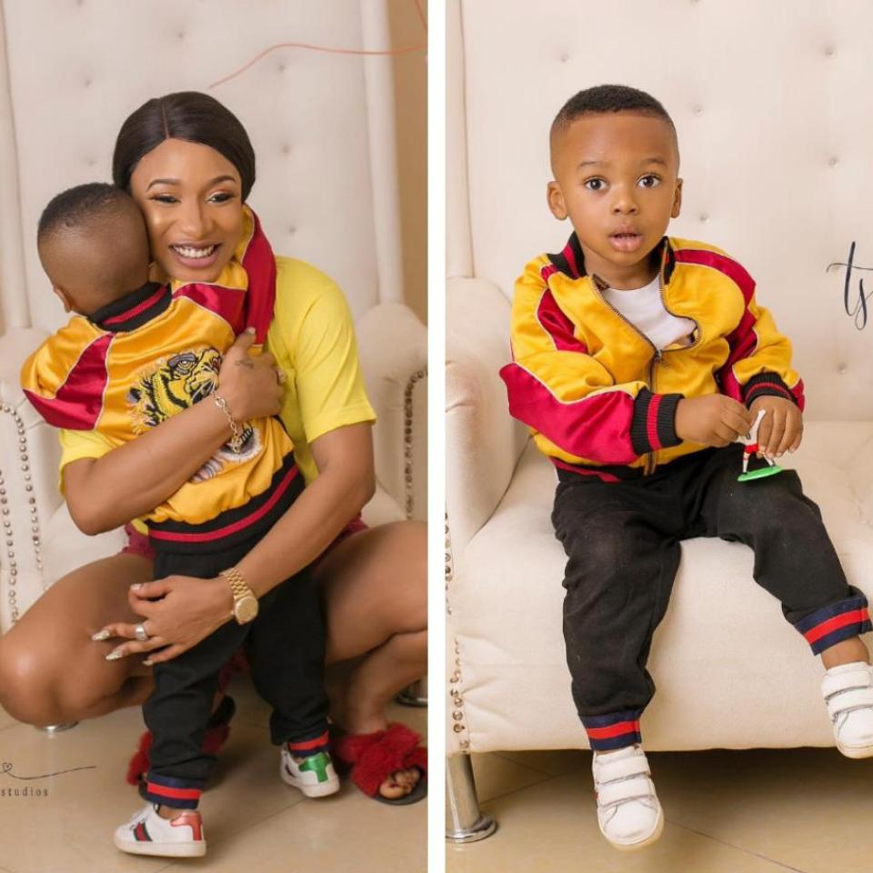Tonto Dikeh Says She Will Give Her Son The World And More