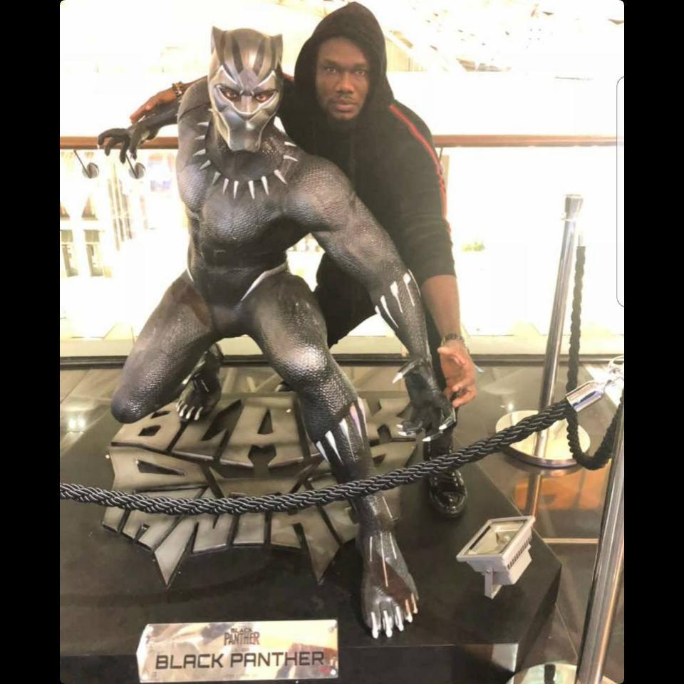 Prince David Osei Channels Black Panther