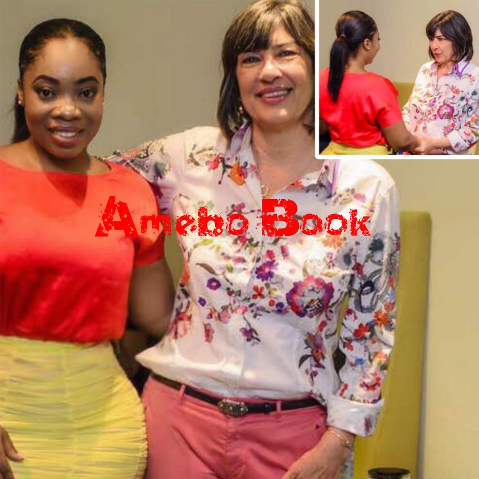 Moesha Boduong Pictured With Christiane Amanpour