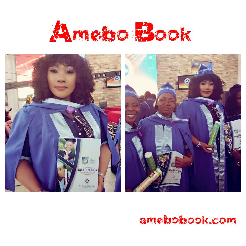 Eucharia Anunobi Completes The Redeemers School of Disciples Course