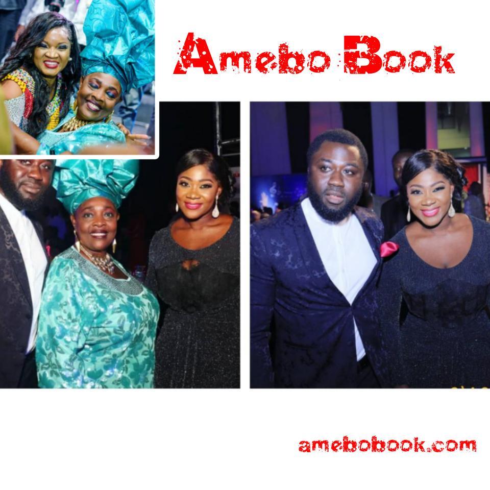 Madam Kofo Pictured With Mercy Johnson And Prince Odi Okojie