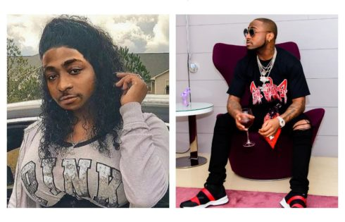 Davido Made To Look Like A Bearded Woman