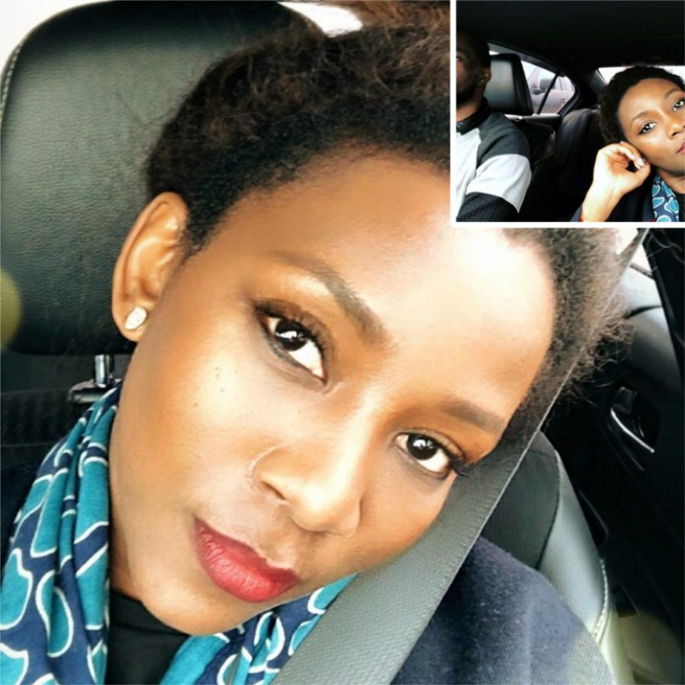 Genevieve Nnaji Shares Photo Of Her Younger Brother