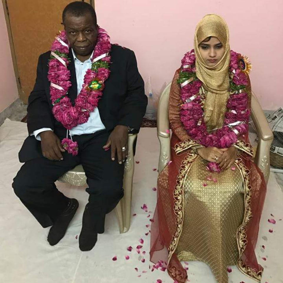 15-Year-Old Indian Girl That Was Married Off To An Old Nigerian Man