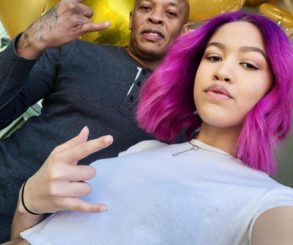 Dr. Dre's Pink-Haired Daughter Truly Young