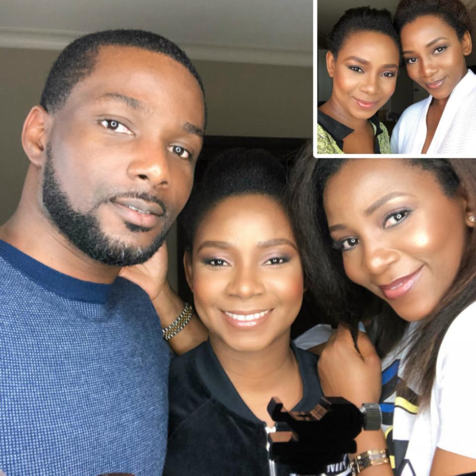 Photos Of Genevieve Nnaji And Her Siblings