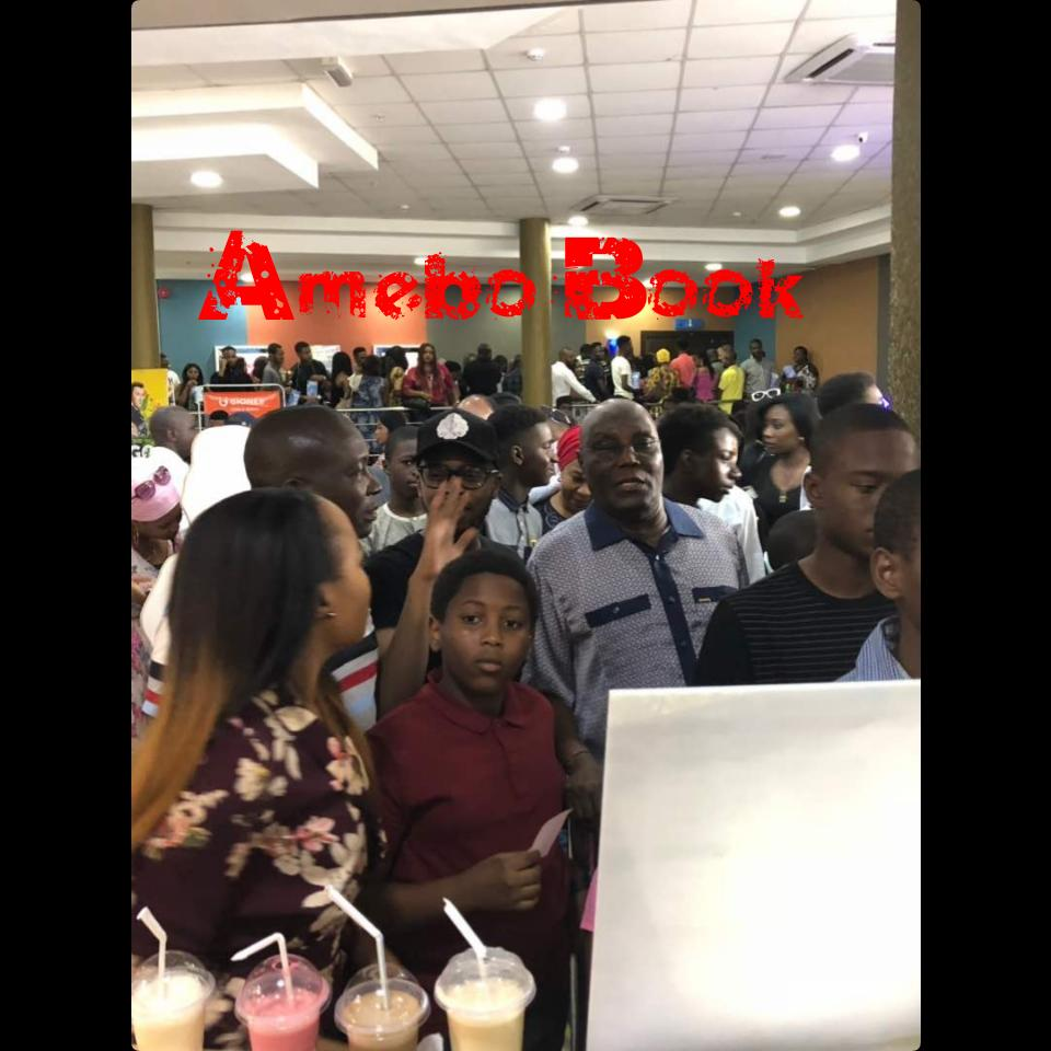 Atiku Abubakar Storms Silverbird Cinemas To Watch Black Panther