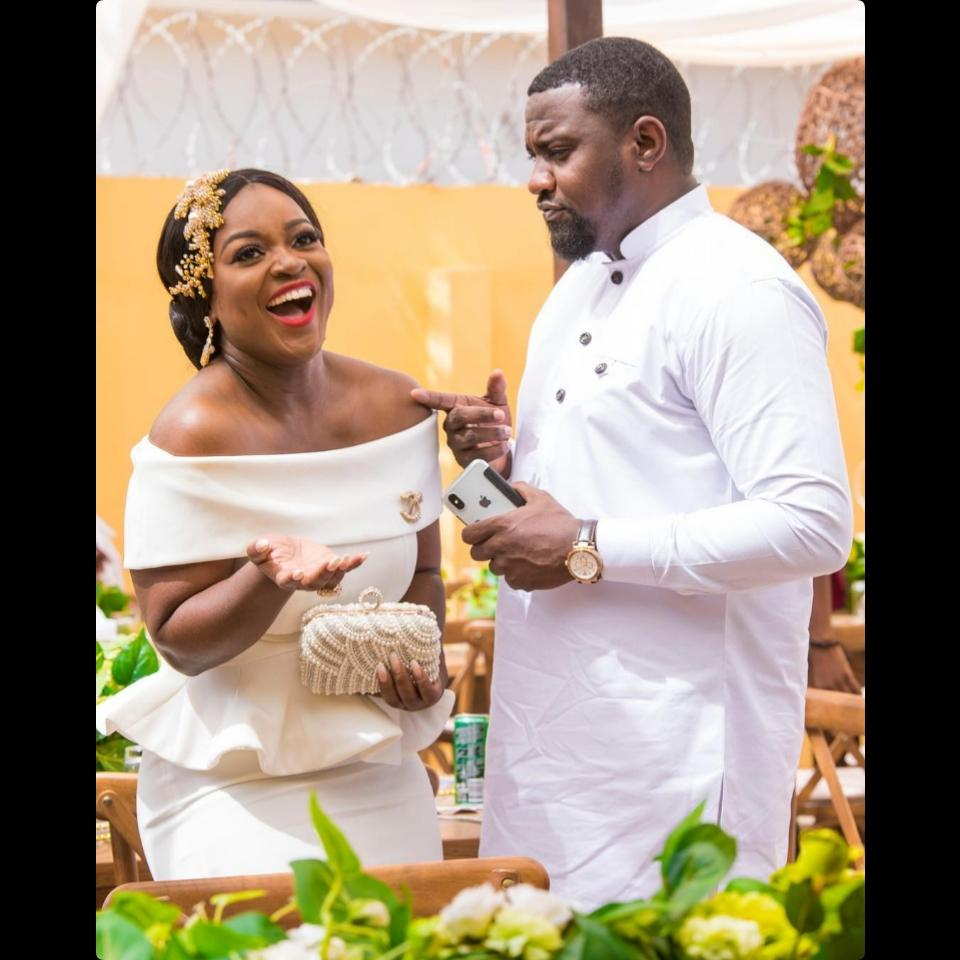 Frederick Nuamah And Martekor Private Engagement Ceremony