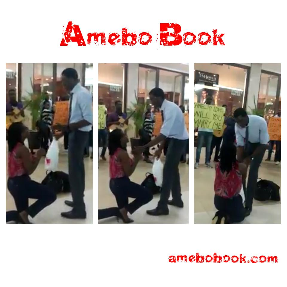 Man Rejects Girlfriend Of Six Years After She Proposed To Him At The Accra Mall