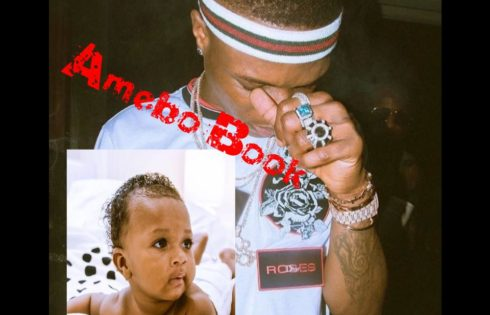 Wizkid Shares Adorable Photos Of Son Zion Ayo-Balogun
