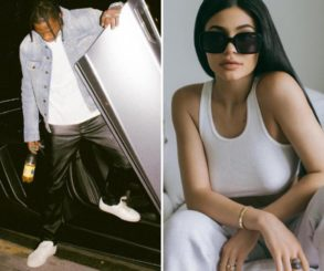 Kylie Jenner And Travis Scott Pictured Snuggling Up