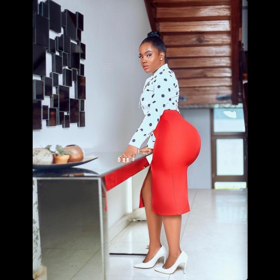 Serwaa Opoku-Addo Puts Curves On Display To Celebrate International Women's Day