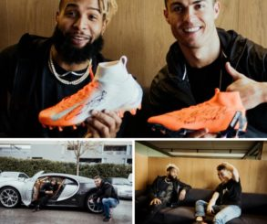 Cristiano Ronaldo And Odell Beckham Jr Team Up For Launch Of The Nike Mercurial
