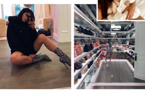 Kylie Jenner Shows Off Her Staggering Designer Handbag Collection