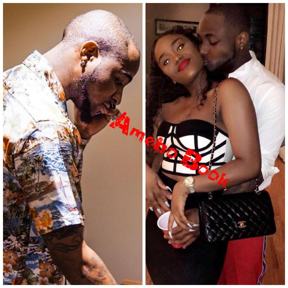 Irreplaceable Love: Photo Of Davido FaceTiming Girlfriend Chioma While Clubbing