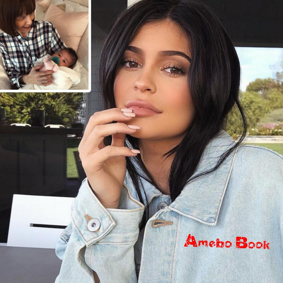 Kylie Jenner's Grandmother Cradles Stormi In Beautiful Snap