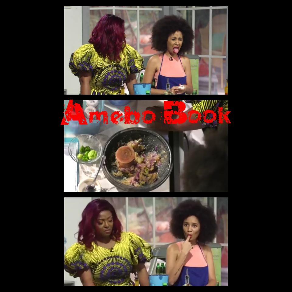 Yvonne Okoro Thinks Sister Deborah's Food Tastes Like Rubbish Mixed With Water