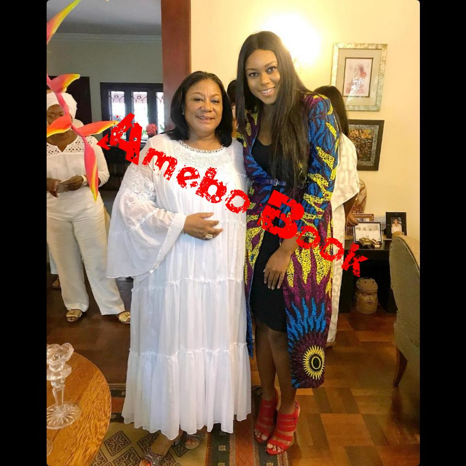 Yvonne Nelson Celebrated With Rebecca Akufo-Addo On Her Birthday