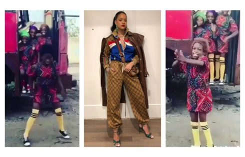 Rihanna Recognizes Kid Dancers From Ikorodu