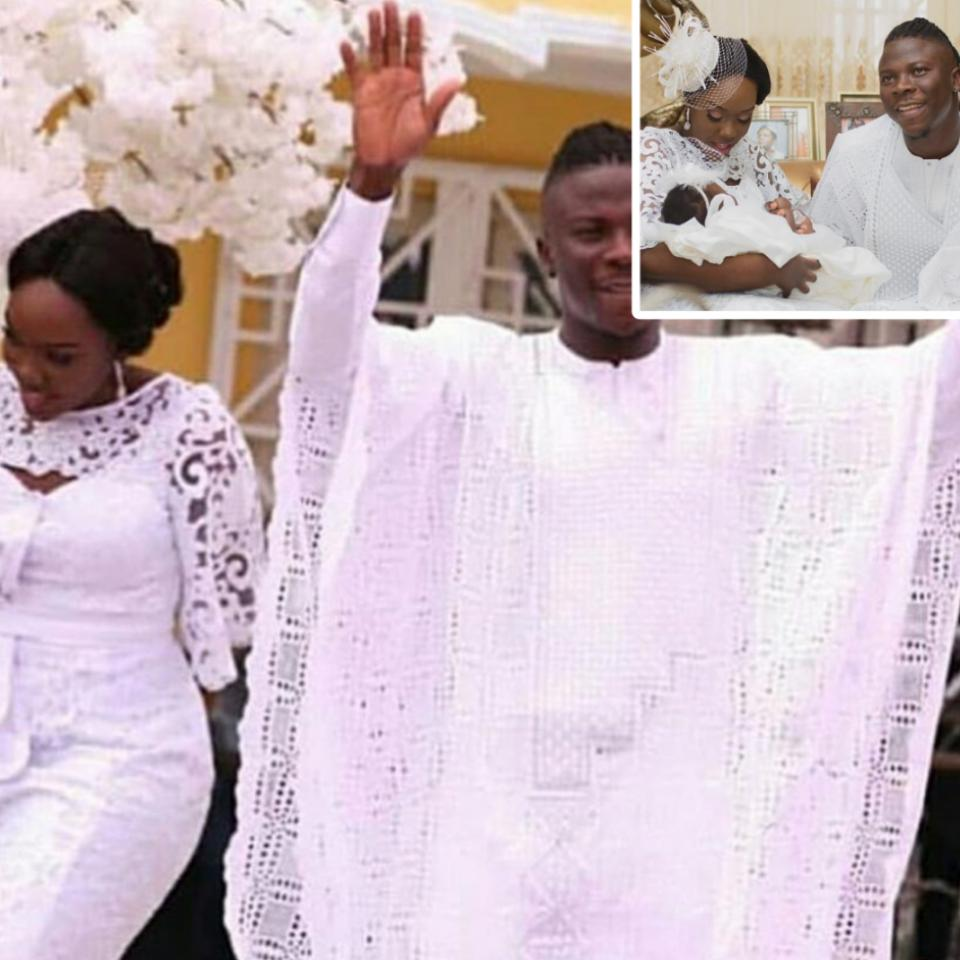 Stonebwoy's Wife Cries Out After Her Daughter Catherine's Instagram Account Is Hacked