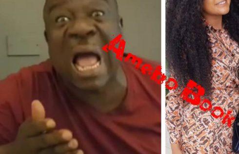 Rachael Okonkwo Kissing Mr Ibu