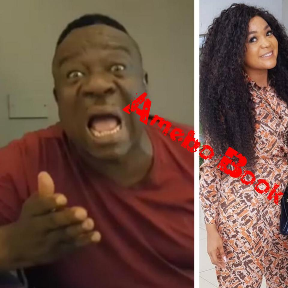 Rachael Okonkwo Kissing Mr Ibu