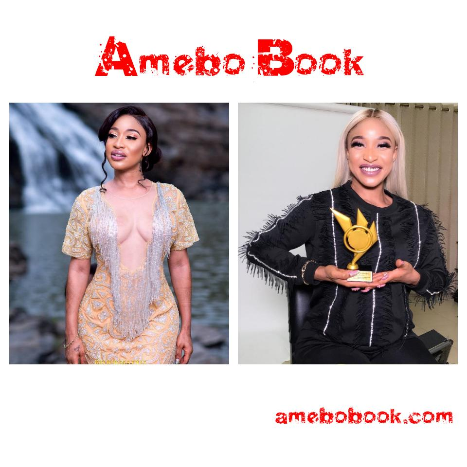 Tonto Dikeh Blasts Critics Who Say Her S**y Outfit Is Not For A Born Again Christian