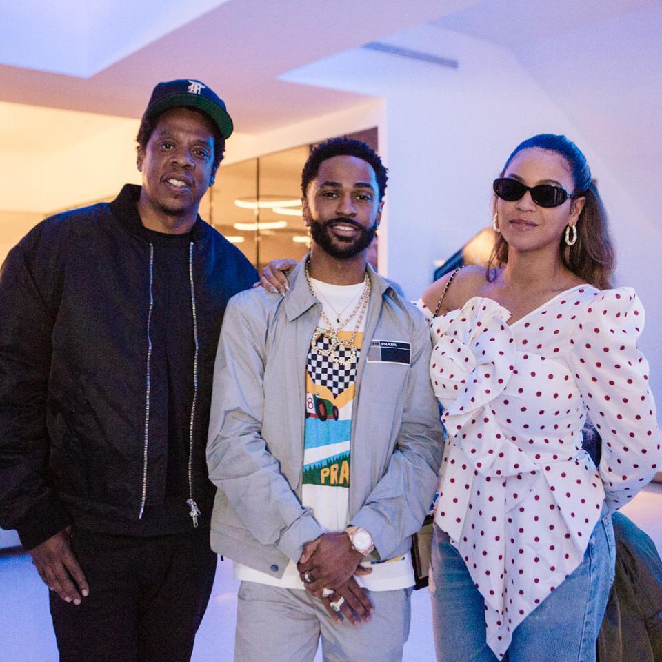 Beyonce Parties With Husband Jay-Z At Big Sean's 30th Birthday Bash