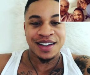 Rotimi Shares Sweet Snap Of His Parents