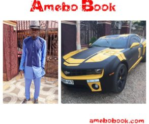 Lil Win Shows Off His New Customised Chevrolet Camaro
