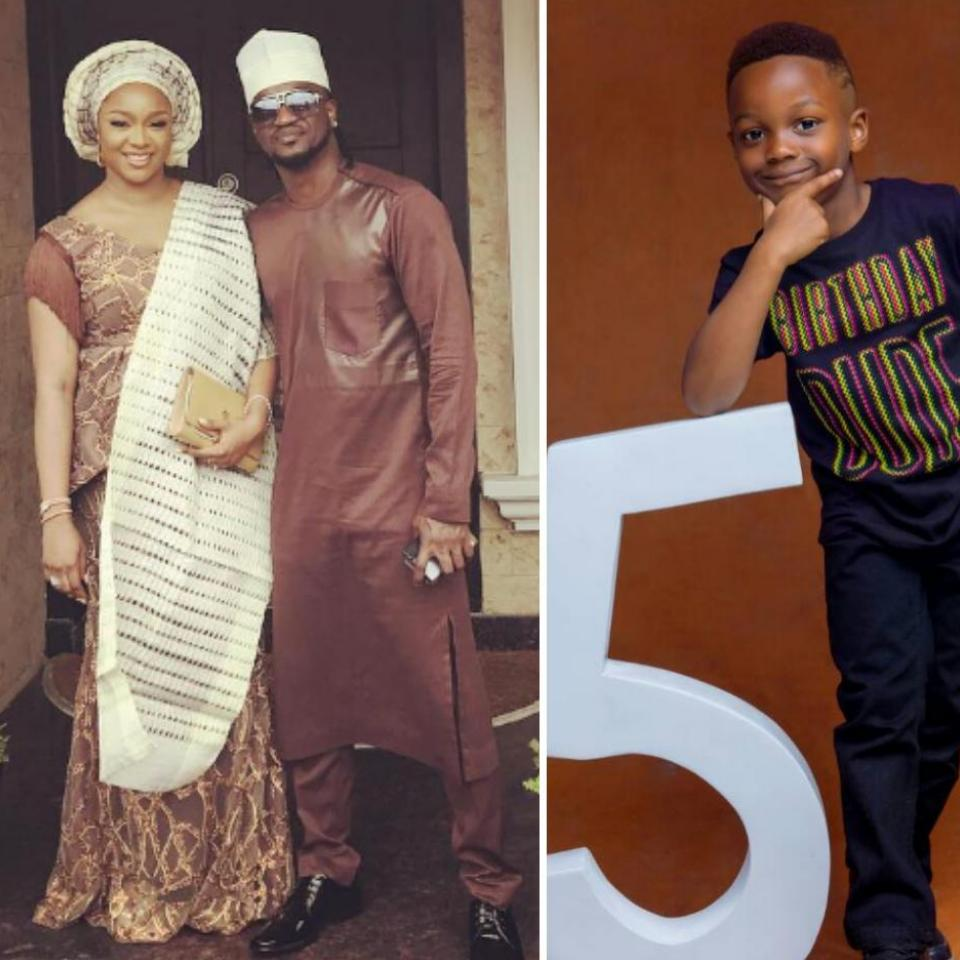 Paul Okoye And Wife Anita Celebrate Son Andre On His 5th Birthday
