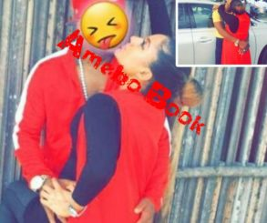 Gifty Powers Sparks Relationship Rumours With Charles Okocha With Kissing Photo
