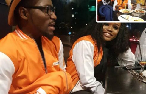 Tobi And Cee-C Reconcile At PayPorte Dinner